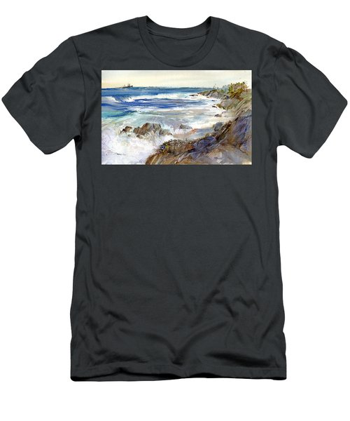 The Shores Of Falmouth Men's T-Shirt (Athletic Fit)