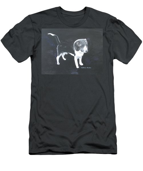 The Shy Beagle Men's T-Shirt (Athletic Fit)