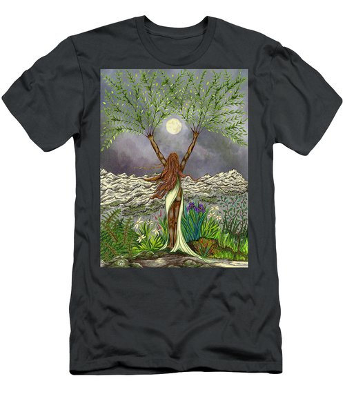 The Singing Girl Men's T-Shirt (Athletic Fit)