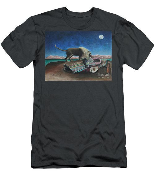 The Sleeping Gypsy  Men's T-Shirt (Athletic Fit)