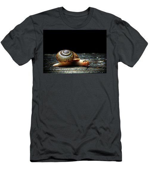 Men's T-Shirt (Slim Fit) featuring the photograph The Small Things by Jessica Brawley