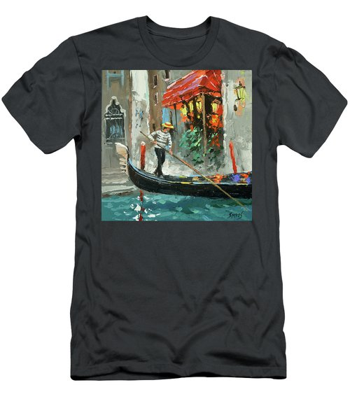 The Sounds Of A Barcarolle Men's T-Shirt (Athletic Fit)