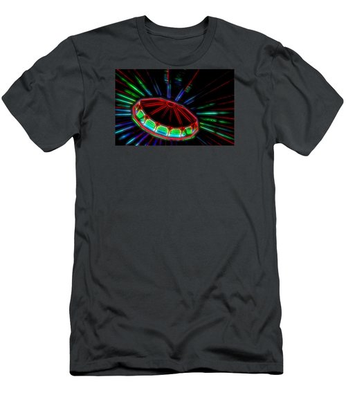 The Spaceship Men's T-Shirt (Slim Fit) by Bob Pardue