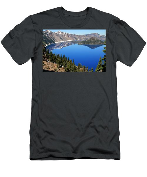 The Splendor Of Crater Lake Men's T-Shirt (Athletic Fit)