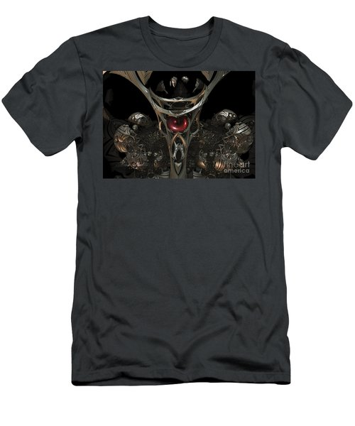 The Staff Of Eternity  Men's T-Shirt (Slim Fit) by Melissa Messick