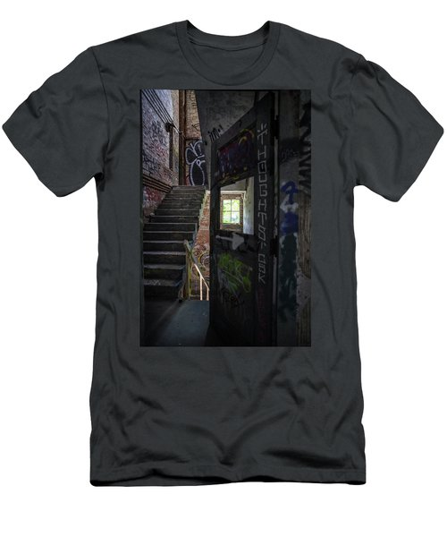 The Stairs Beyond The Door Men's T-Shirt (Athletic Fit)