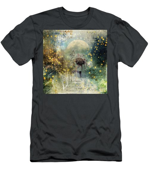 The Stars Fall Down Men's T-Shirt (Athletic Fit)
