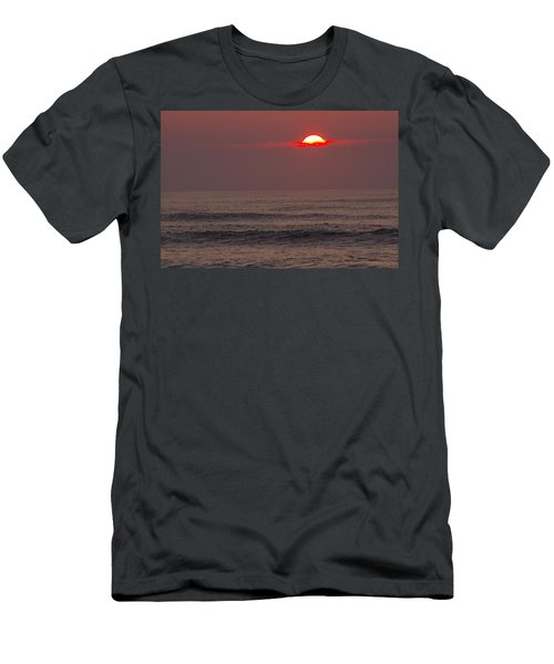 Men's T-Shirt (Slim Fit) featuring the photograph The Start by Greg Graham