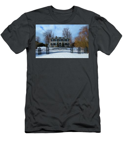 The Stone House Men's T-Shirt (Athletic Fit)