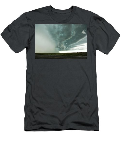 Men's T-Shirt (Slim Fit) featuring the photograph The Stoneham Shelf by Ryan Crouse