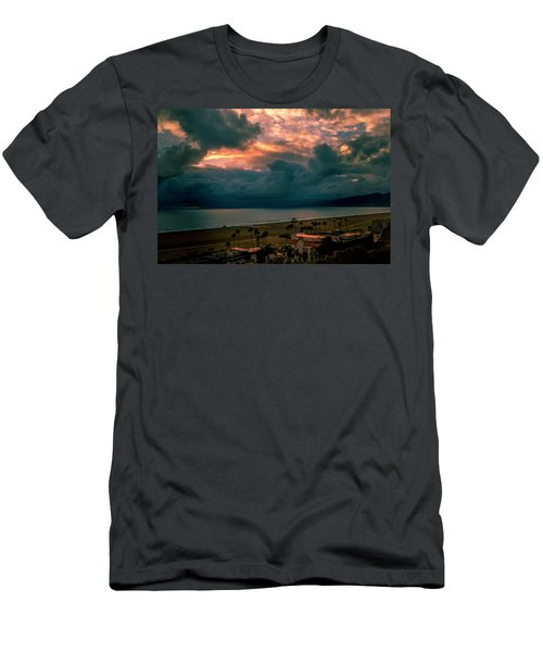 The Storm Moves On Men's T-Shirt (Athletic Fit)