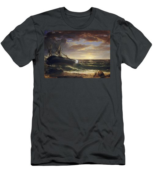 The Stranded Ship Men's T-Shirt (Athletic Fit)