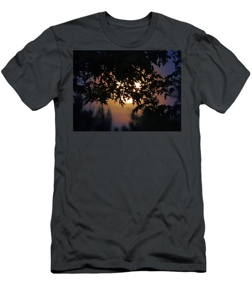 The Strawberry Moon Men's T-Shirt (Slim Fit) by Judy Johnson