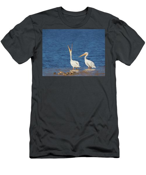 Men's T-Shirt (Athletic Fit) featuring the photograph The Stretch by Kim Hojnacki