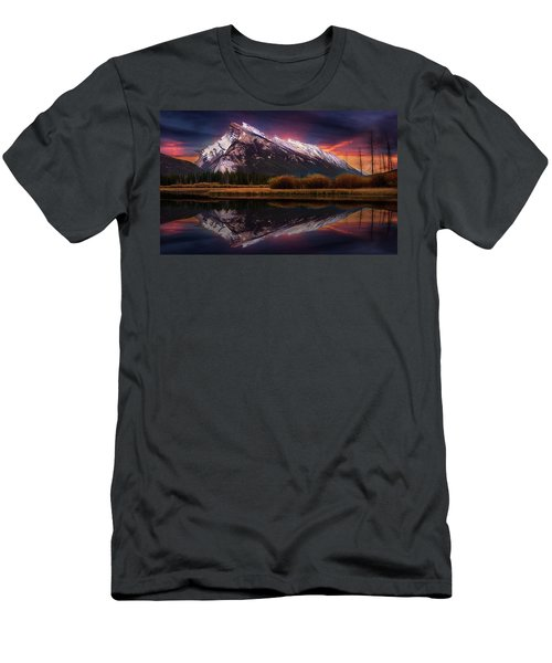 Men's T-Shirt (Slim Fit) featuring the photograph The Sun Also Rises by John Poon