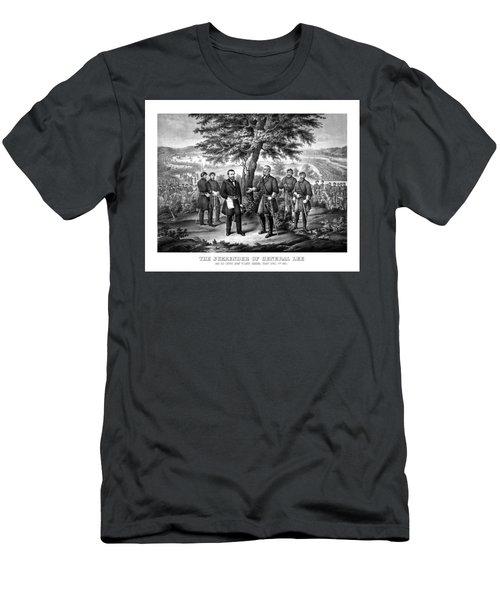 The Surrender Of General Lee  Men's T-Shirt (Athletic Fit)