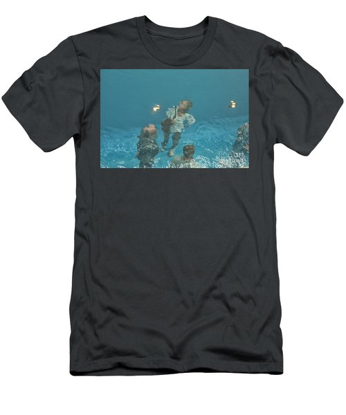 The Swimming Pool Men's T-Shirt (Athletic Fit)