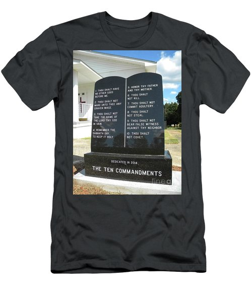 The Ten Commandments Men's T-Shirt (Athletic Fit)