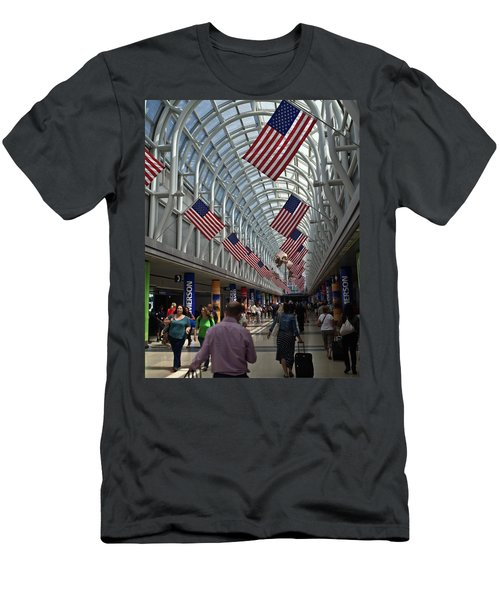 The Terminal Walkway Men's T-Shirt (Athletic Fit)