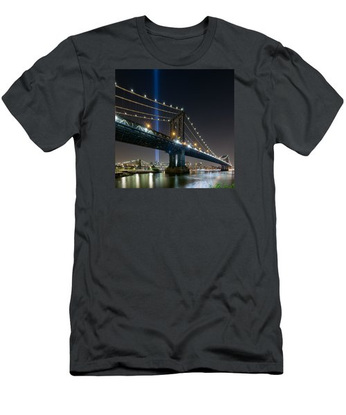 Men's T-Shirt (Slim Fit) featuring the photograph The Test  by Anthony Fields