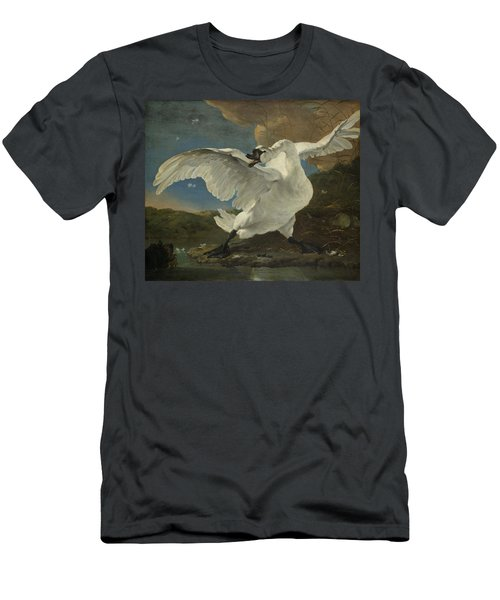 The Threatened Swan, 1650 Men's T-Shirt (Athletic Fit)