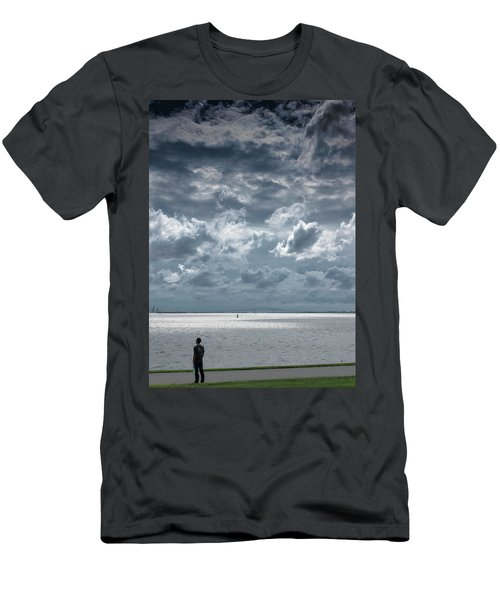 The Threatening Storm Men's T-Shirt (Athletic Fit)
