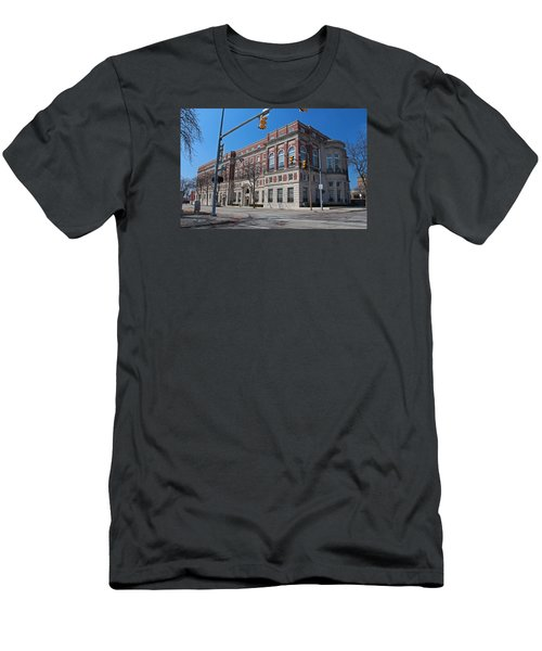 Men's T-Shirt (Slim Fit) featuring the photograph The Toledo Club by Michiale Schneider