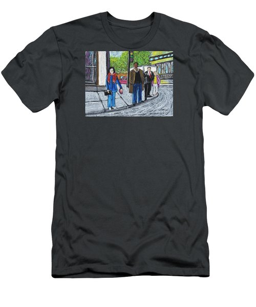 The Tourist Men's T-Shirt (Athletic Fit)