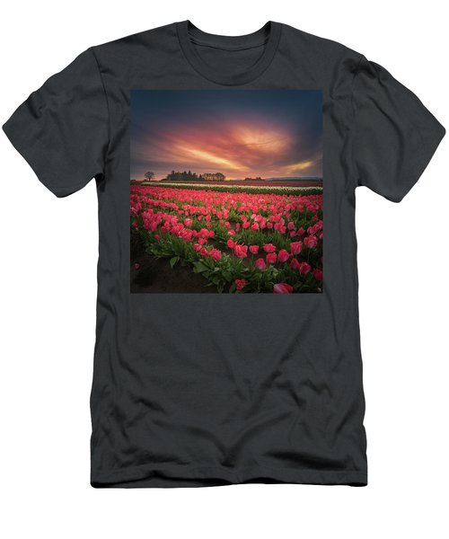 Men's T-Shirt (Athletic Fit) featuring the photograph The Tranquil Morning Before Sunrise by William Lee