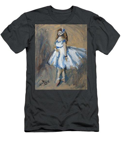 The Truth Lies Between Aguste Renoir And Marlene Dumas Men's T-Shirt (Slim Fit) by Nop Briex
