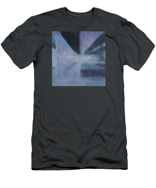 Men's T-Shirt (Slim Fit) featuring the painting The Ultimate Art Is How To Be A Human by Min Zou