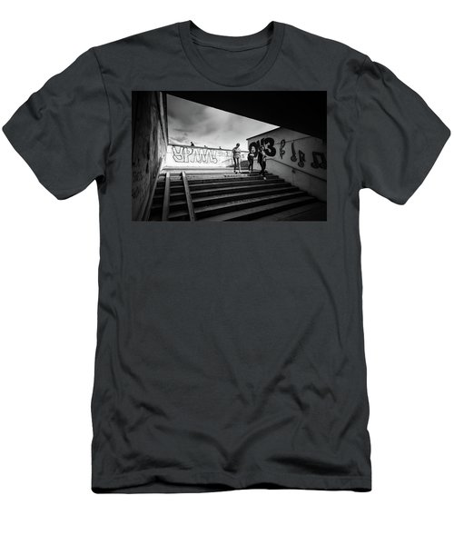The Underpass Men's T-Shirt (Slim Fit) by John Williams