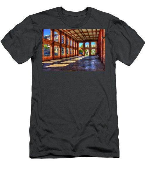 The Venue Old Mill Wedding Venue Reedy River South Caroline Art Men's T-Shirt (Slim Fit) by Reid Callaway