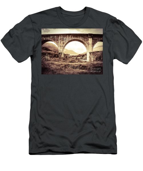 The Viaduct And The Loch Men's T-Shirt (Athletic Fit)