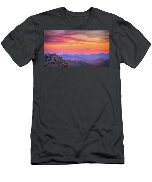 The View From Above Men's T-Shirt (Slim Fit) by Anthony Citro