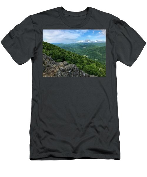 Men's T-Shirt (Athletic Fit) featuring the photograph The View From Raven's Roost by Lori Coleman