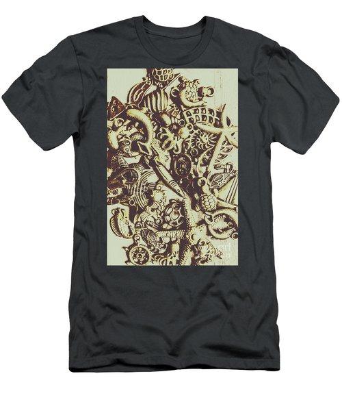 The Vintage Nautics Men's T-Shirt (Athletic Fit)