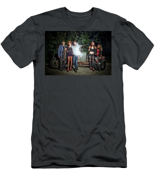 The Visitor Men's T-Shirt (Slim Fit) by Jerry Golab