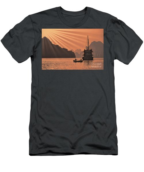 The Voyage Ha Long Bay Vietnam  Men's T-Shirt (Athletic Fit)