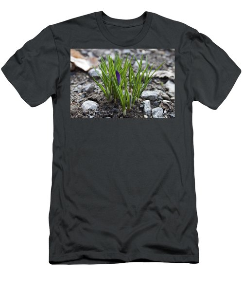 Men's T-Shirt (Slim Fit) featuring the photograph The Wait by Jeff Severson