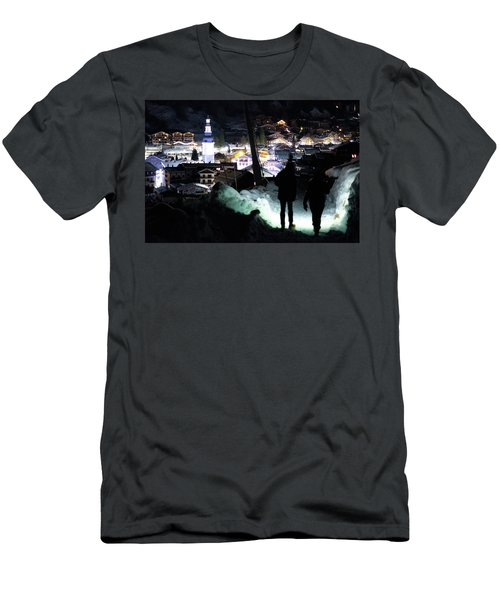 The Walk Into Town- Men's T-Shirt (Athletic Fit)