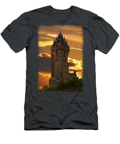 The Wallace Monument Men's T-Shirt (Athletic Fit)