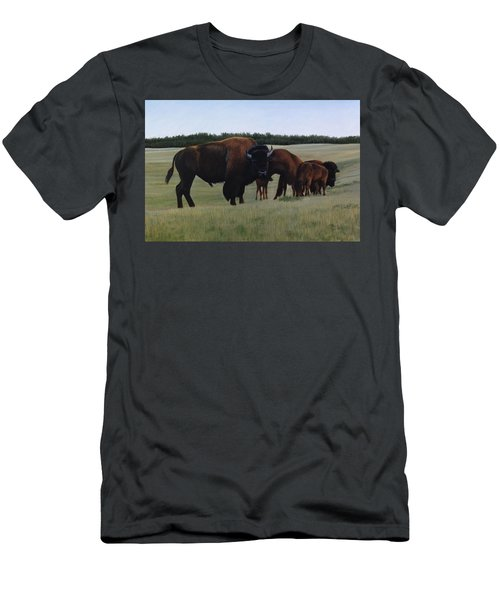 Men's T-Shirt (Athletic Fit) featuring the painting The Watchman by Tammy Taylor