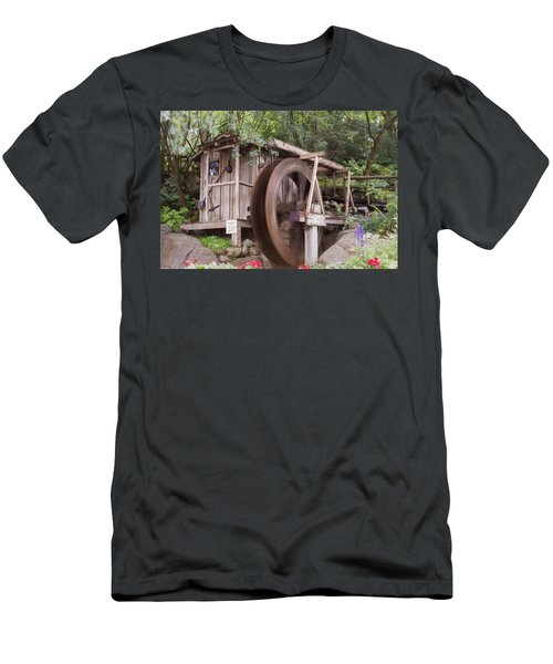 The Water Wheel Keeps Turning ... Men's T-Shirt (Athletic Fit)