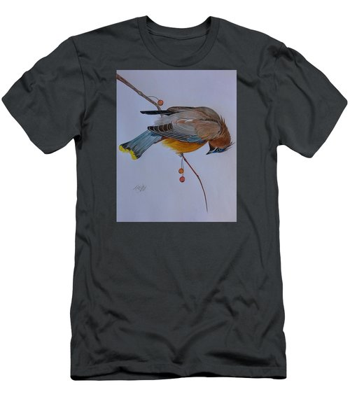 The Waxwing  Men's T-Shirt (Athletic Fit)