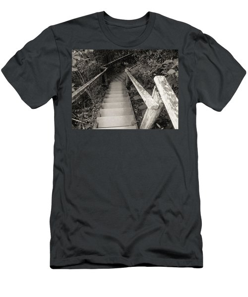 Men's T-Shirt (Slim Fit) featuring the photograph The Way by Beto Machado