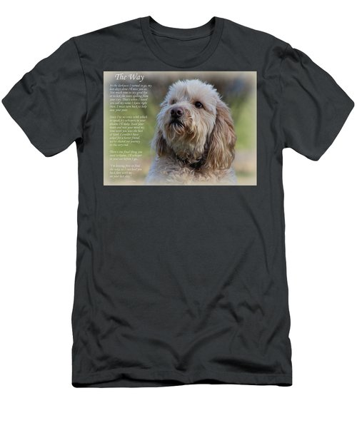 The Way Golden Doodle Men's T-Shirt (Athletic Fit)