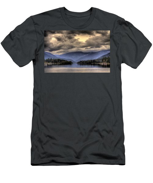 The West Arm Of Kootenai Lake Men's T-Shirt (Athletic Fit)