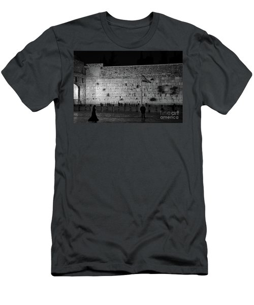 The Western Wall, Jerusalem Men's T-Shirt (Athletic Fit)