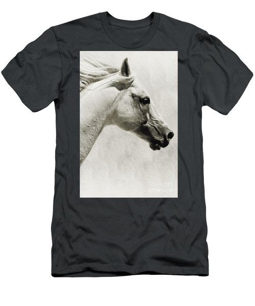 The White Horse IIi - Art Print Men's T-Shirt (Athletic Fit)